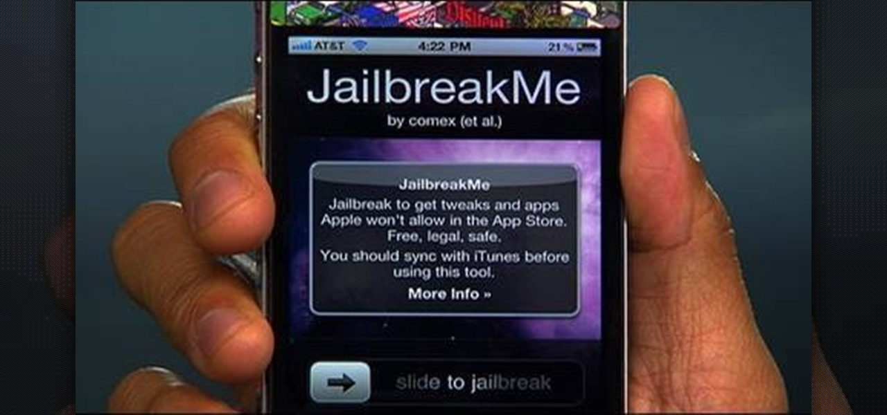 How to Jailbreak an Apple iPhone 4, iPad or iPod Touch ...