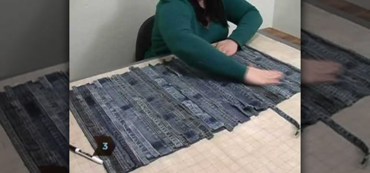 www.youtube.com how to turn a quilt into a rug