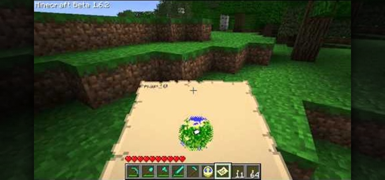 How to Make a map in Minecraft Beta 1.6 « PC Games :: WonderHowTo
