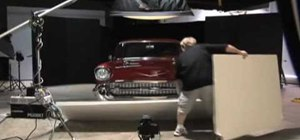 Light a '57 Chevy in the photo studio