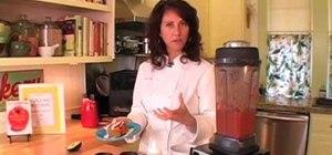Make raw vegan tamale-enchilada sauce