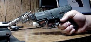 Field strip a Walther PPS 9mm pistol