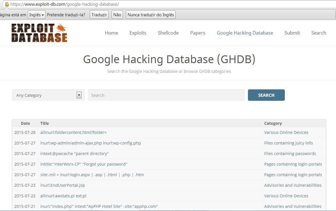How to Use Google to Hack(Googledorks)