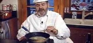 Prepare a meuniere sauce