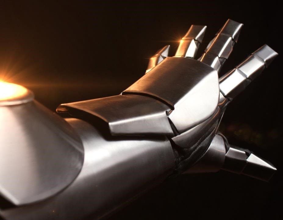How to Make an Iron Man Inspired Gauntlet (in Metal)