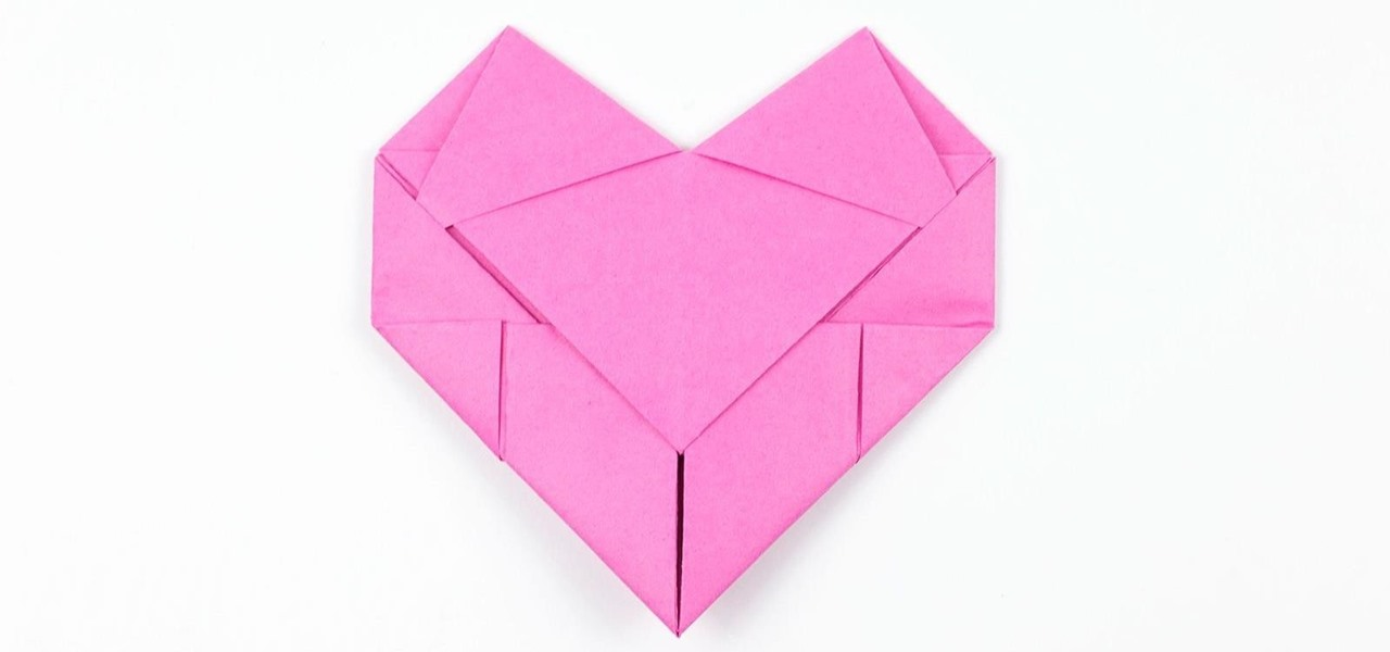 Origami Heart Collection: 9 Puffy Hearts | Chi Yu | 600x1280