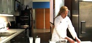 Make creme fraiche (sour cream) with two recipes