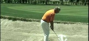 Improve golf sand hazard play
