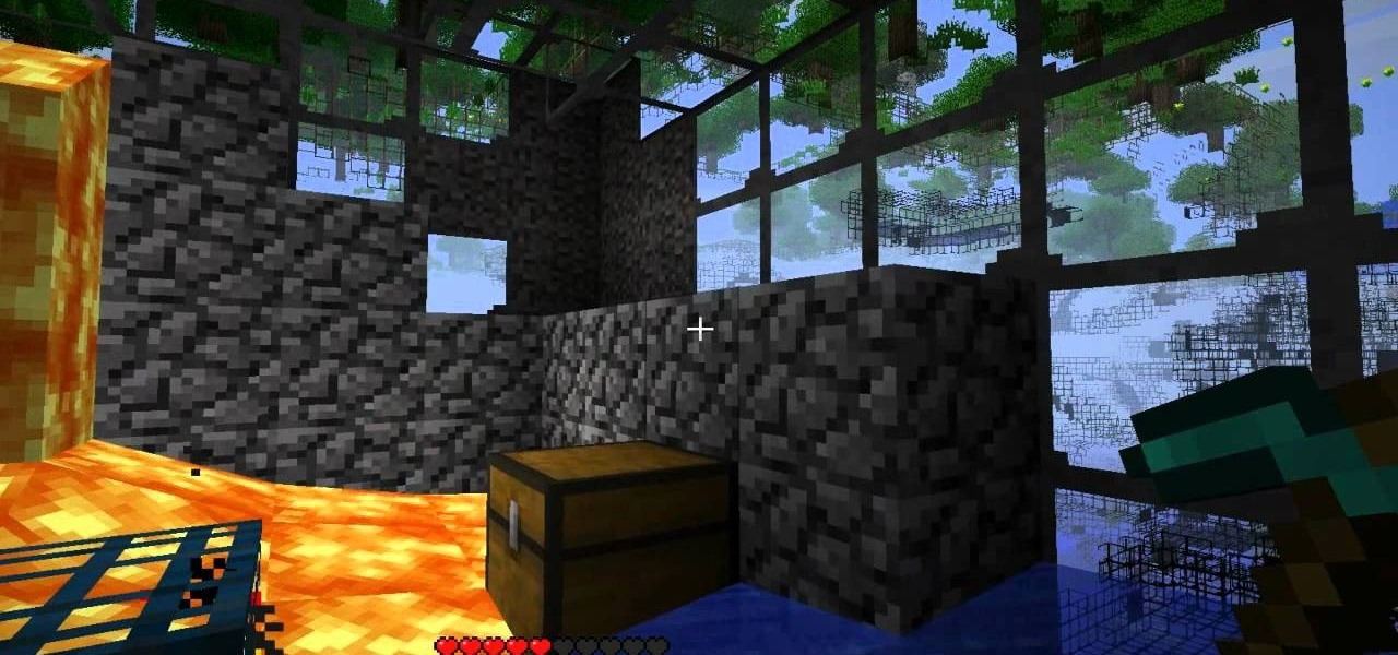 How to Find dungeons in Minecraft with the X-ray texture