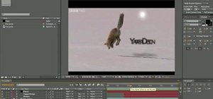 Use a lens flare in your animations with Adobe After Effects