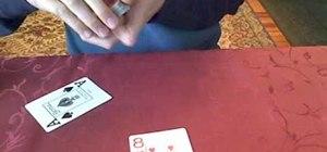 Perform an advanced reversal card trick
