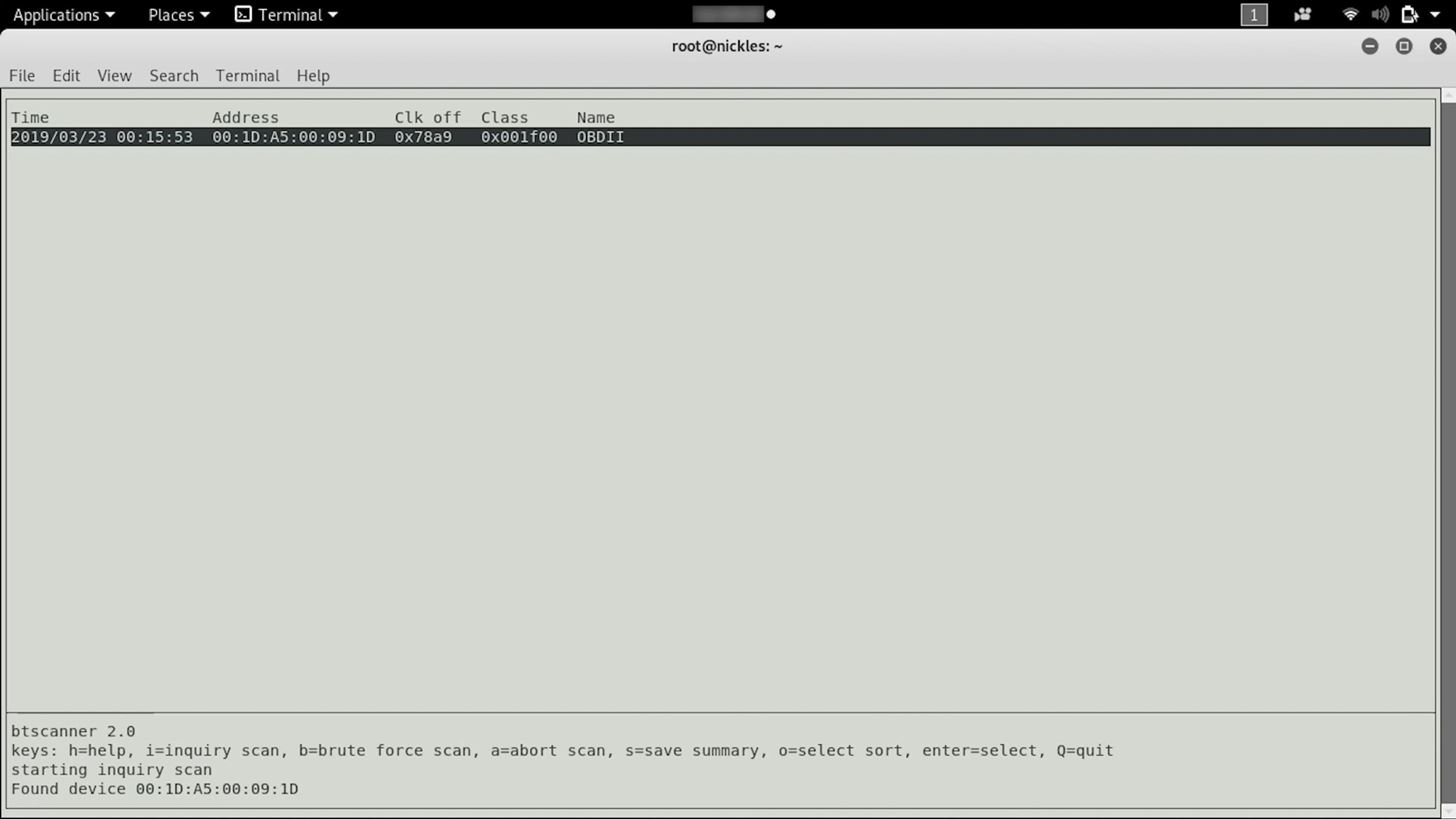 BT Recon: Snoop on Bluetooth devices with Kali Linux