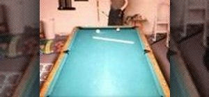 Draw with sidespin in pool