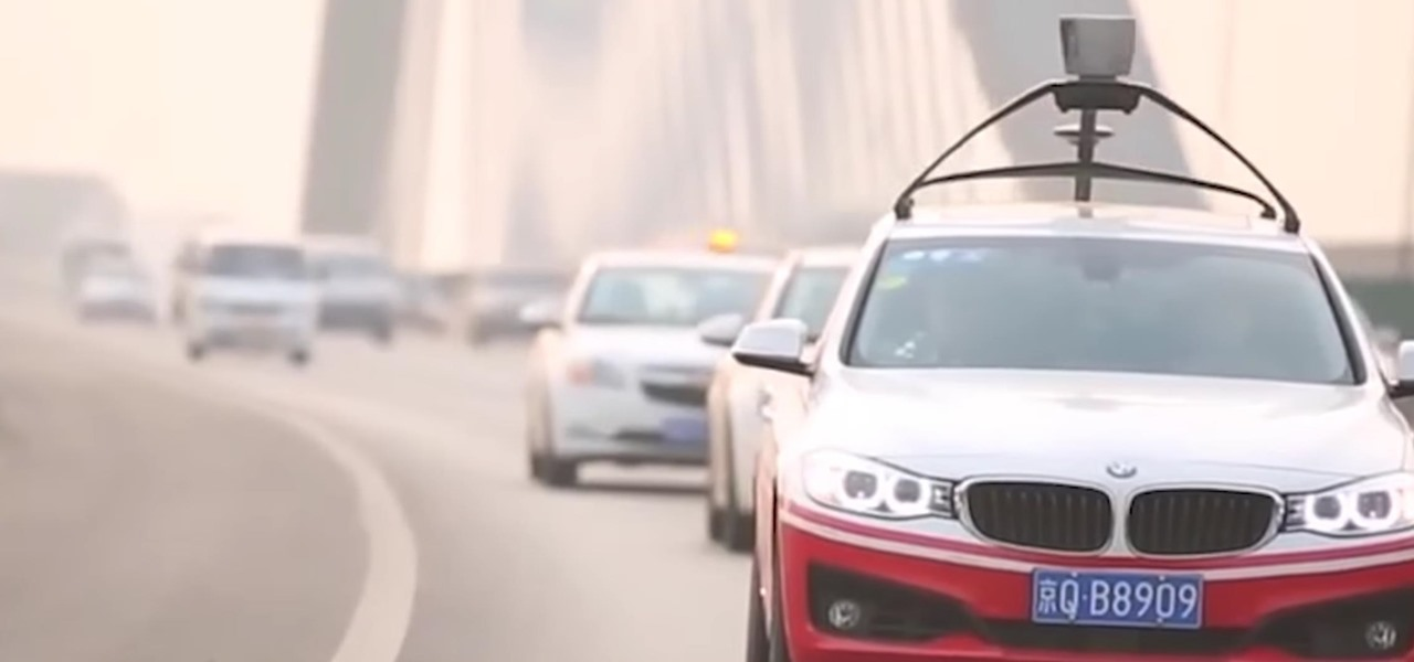 CEO Arrested After Baidu Pulls Crazy Stunt to Show China's Still in the Driverless Race