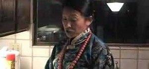 Wrap a Tibetan chupa