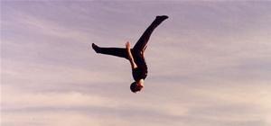 Gravity Defying Stuntman Cyril Raffaelli