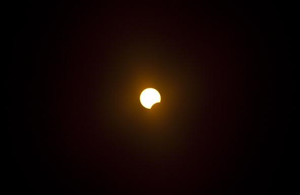 Some Small Pics of the Partial Solar Eclipse