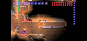 Make a mushroom farm in Terraria