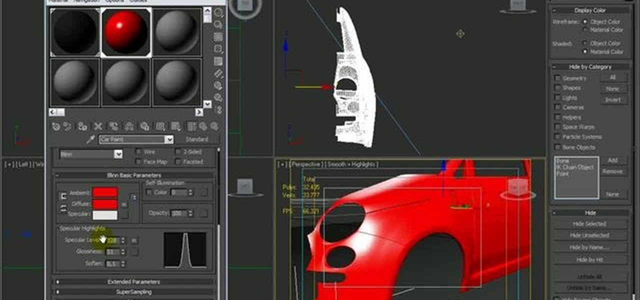 How To Create A Car Paint Shader In 3ds Max 2010