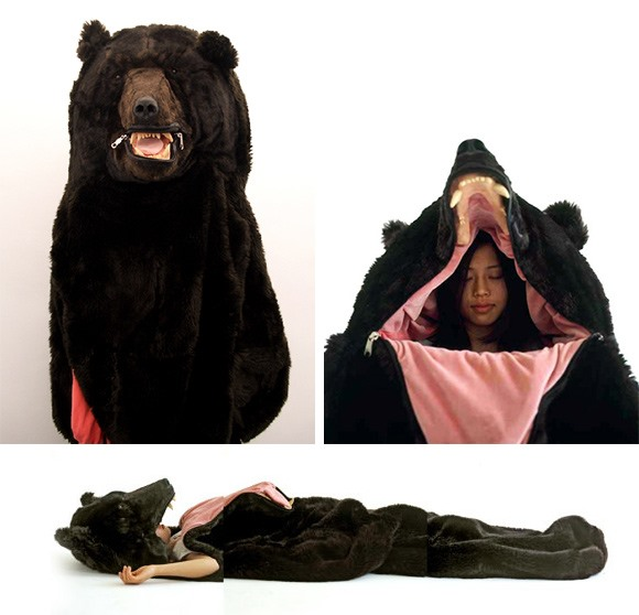 I don't know if you'll be able to sleep bear-y well...