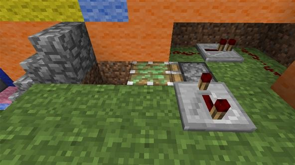 How to Create Secret Staircases with Lever Actuated Trapdoors in Minecraft