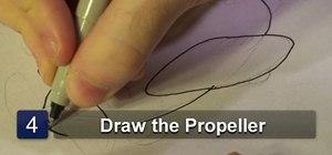 Draw a toy plane