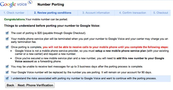 How to Port Your Mobile Phone Number to Google Voice