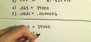 Convert between scientific and decimal notation