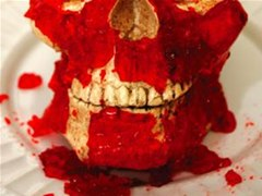 HowTo: Make a Gnarly Halloween Meat Skull