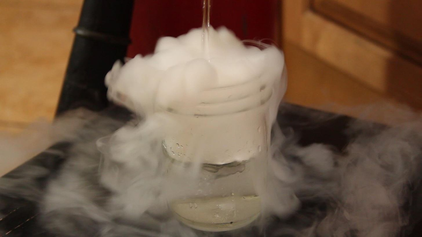How to Make Dry Ice at Home Using a CO2 Fire Extinguisher