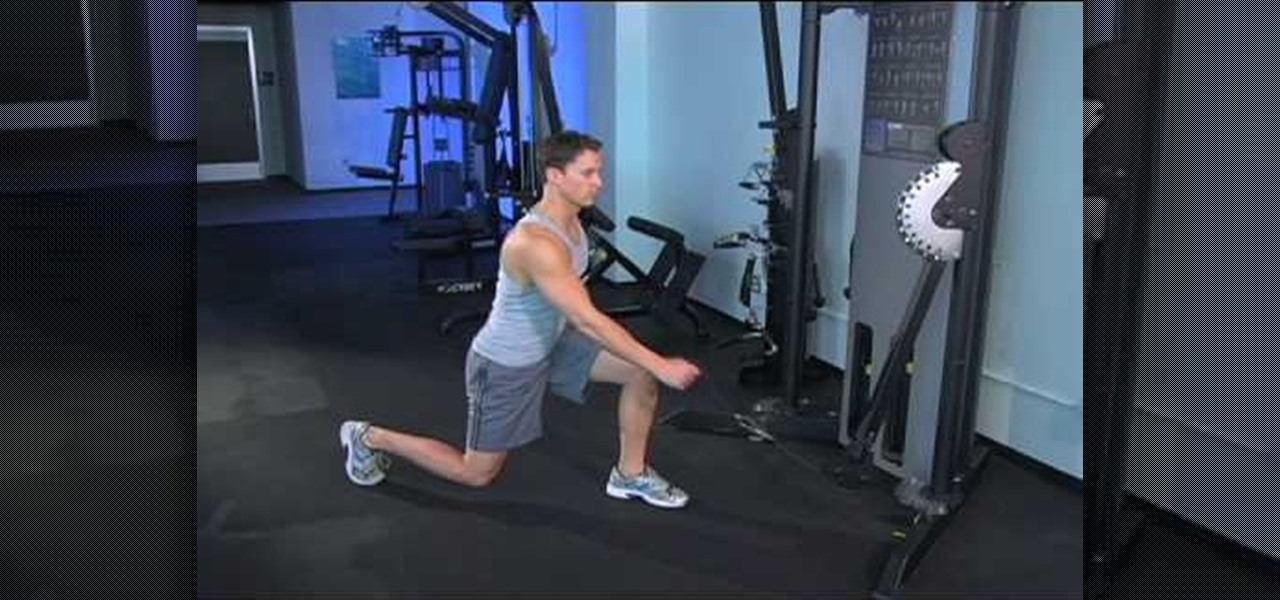 How To Do A Single Cable Scissor Squat And Row 171 Weights
