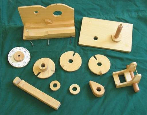 Wooden combination lock plans