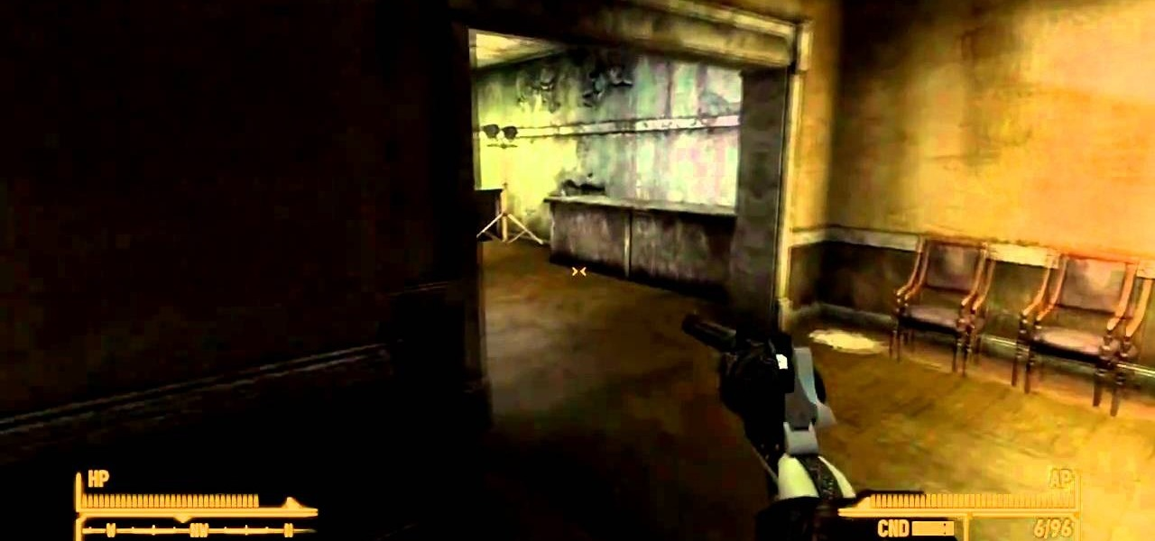 how to find lucky the rare weapon 357 magnum in fallout new vegas