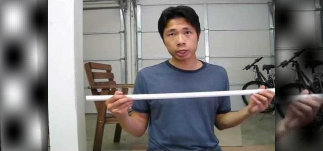 How To Build Your Own Japanese Katana Out Of Foam