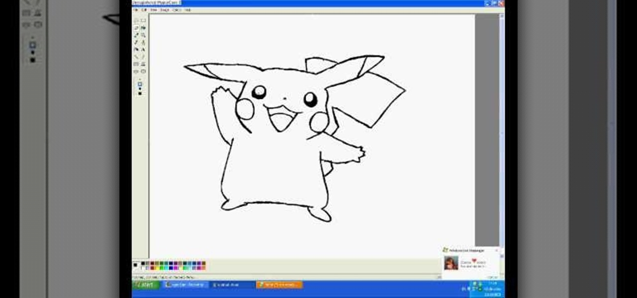 How to Draw Pikachu in MS Paint « Drawing & Illustration ...