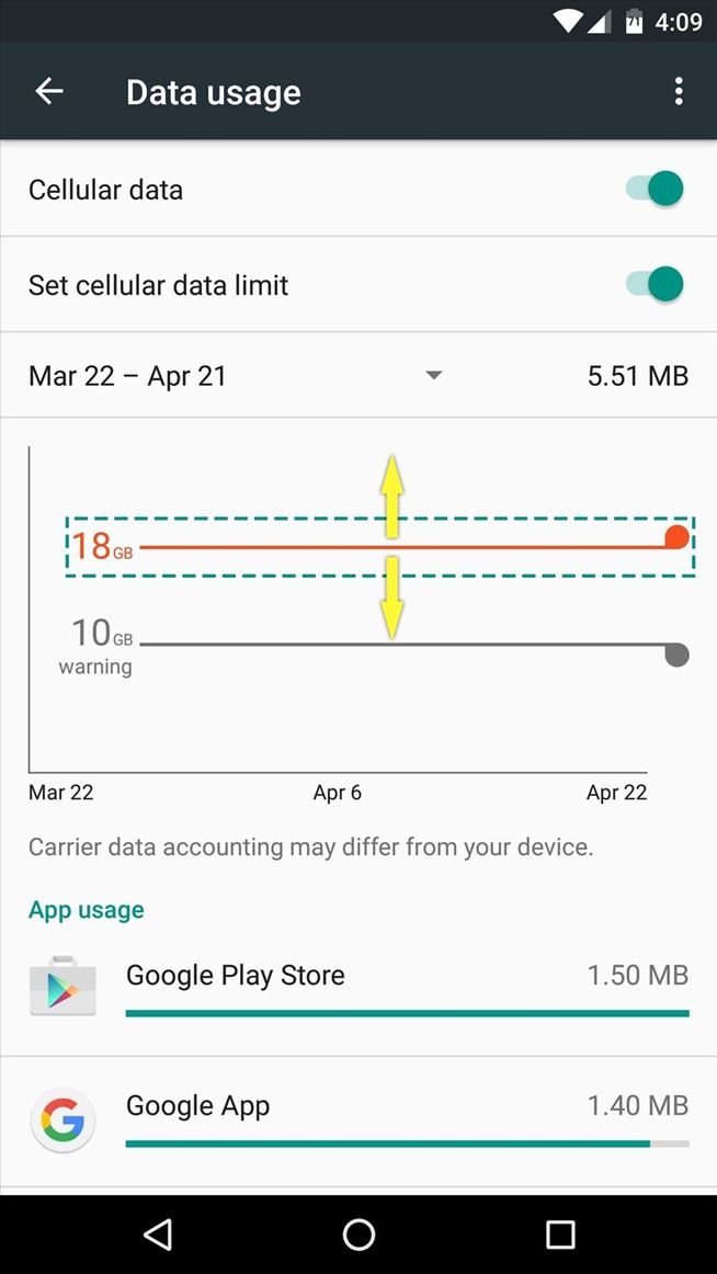 Android Basics: How to Set a Mobile Data Warning or Limit to Avoid Overage Fees