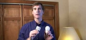 Use compact fluorescent bulbs to save money