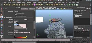 Sculpt polygon hair when modeling a character in Autodesk 3ds Max