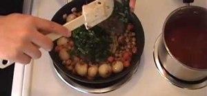 Cook Mediterranean couscous