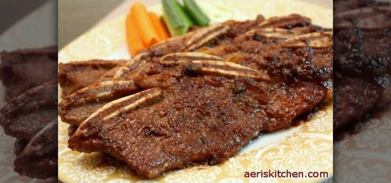 how to make korean ribs