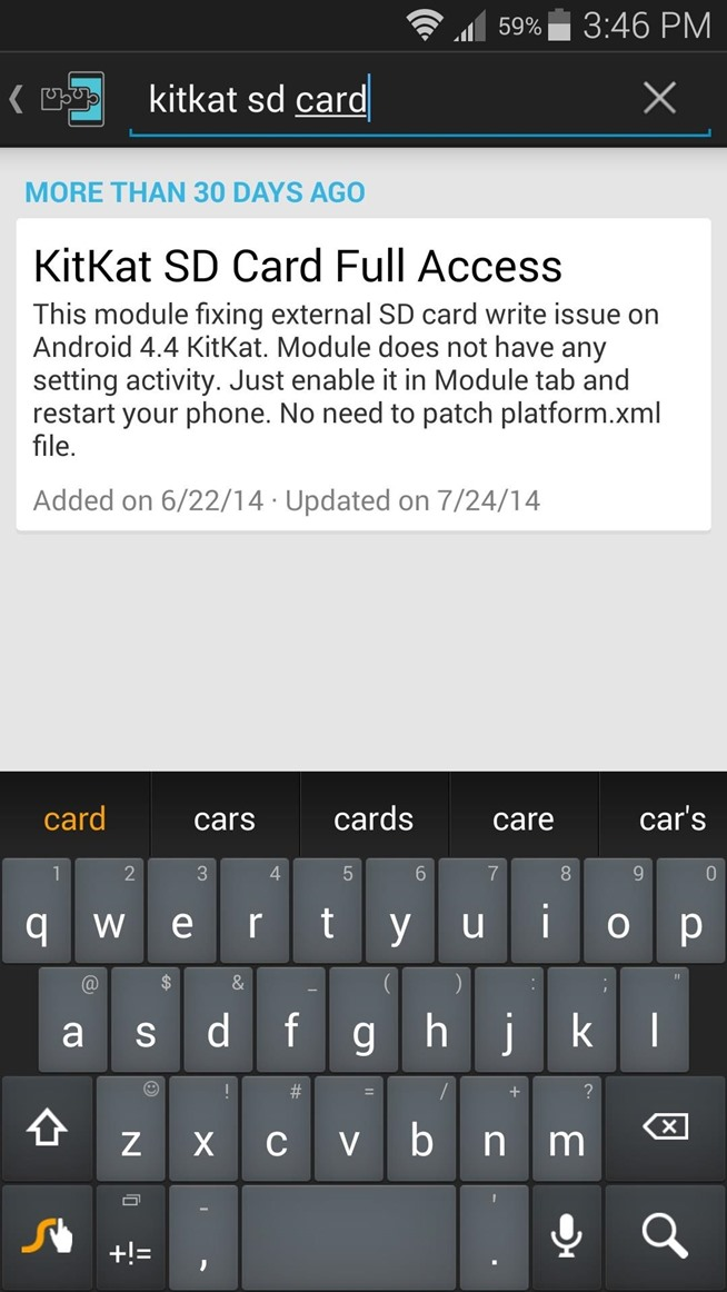 Android's installer interface should automatically come up at this