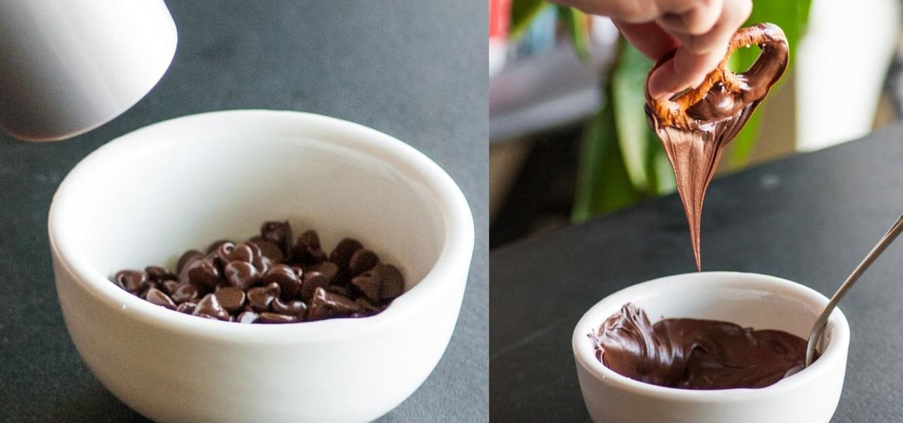 Melt Chocolate in Under 1 Minute Without a Stove