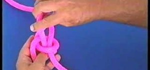 Tie the bowline knot