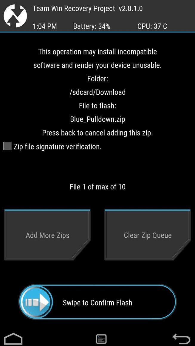 Apply a Custom Animation to Your OnePlus One's Notification Drawer