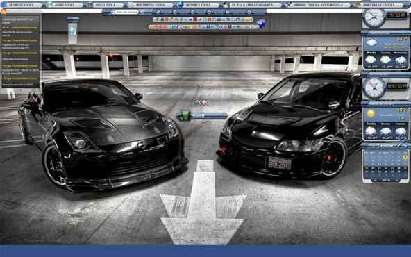 HERE IS STANDP'S CUSTOMIZED DESKTOP, VERY TWEAKED VERY COOL, WHAT DO U THINK?