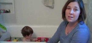 Protect children from high bath water temperatures