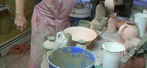 Glaze pots in Shino with Simon Leach