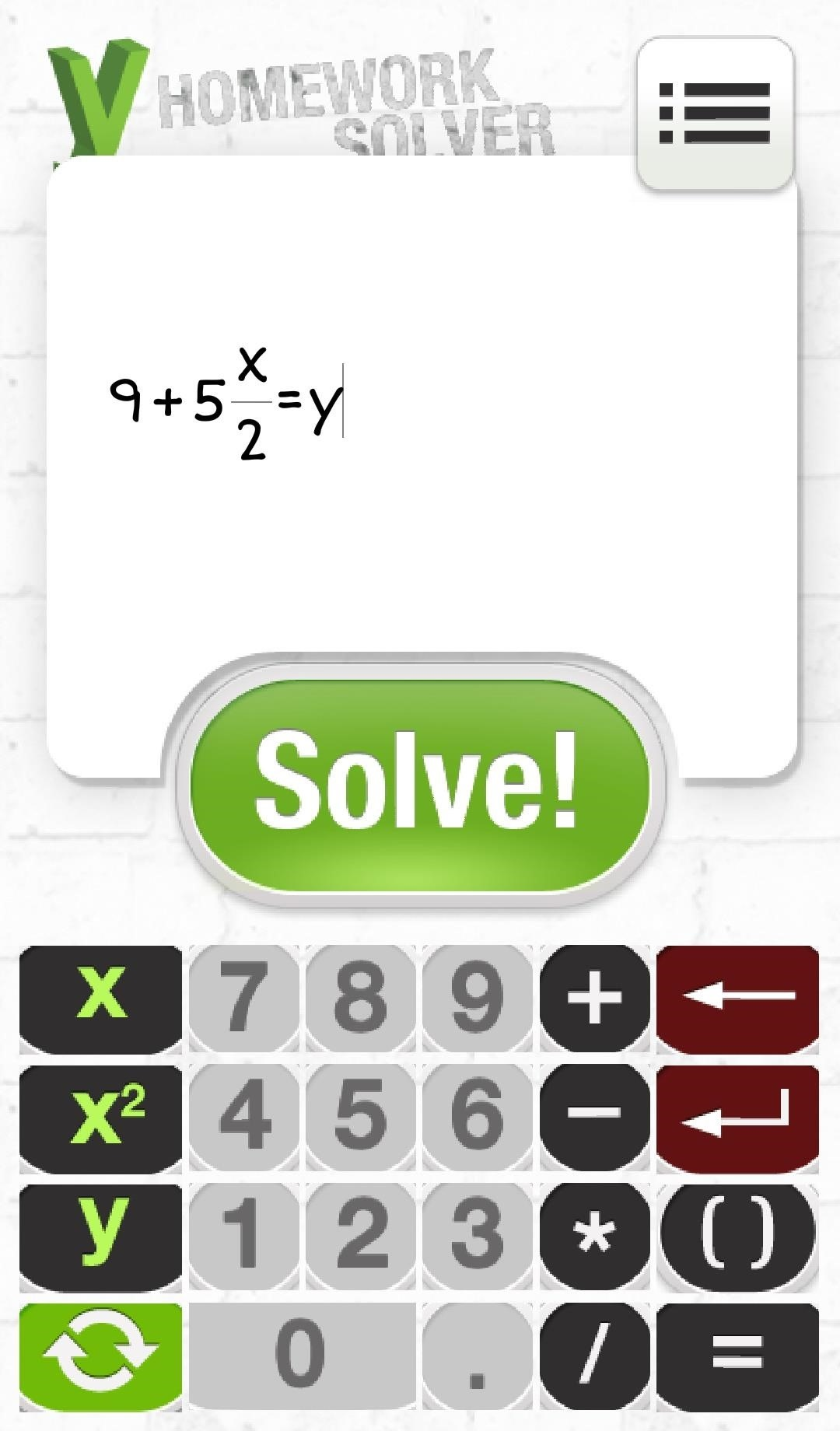 Math homework answers free online