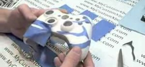 Design a paint scheme for an XBOX 360 controller