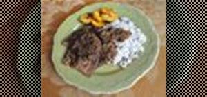 Make a Venezuelan asado negro